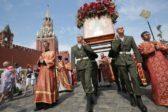 Офицеры и солдаты ВДВ пройдут крестным ходом в центре Москвы