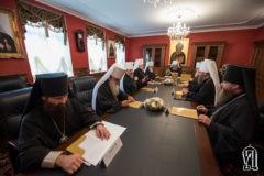 В Киево-Печерской Лавре проходит заседание Священного Синода УПЦ