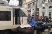 Около 50 человек пострадали при аварии поезда в Барселоне