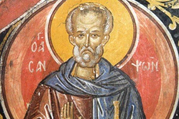 Церковь чтит память преподобного Сампсона Странноприимца