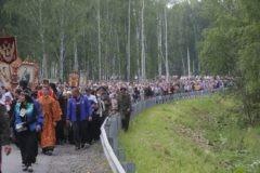Более 60 тысяч человек приняли участие в Царском крестном ходе