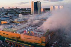 Начальник службы пожаротушения Москвы отдал свой противогаз для спасения человека