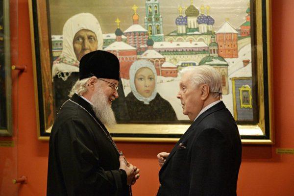 Патриарх Кирилл вознес заупокойную молитву об Илье Глазунове
