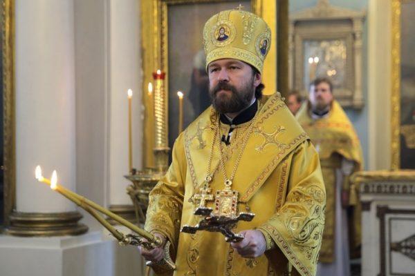 Митрополит Иларион: Через двух апостолов Церковь получила учение, которым живет