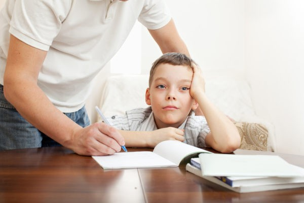 Родители, вы сочинение написали?