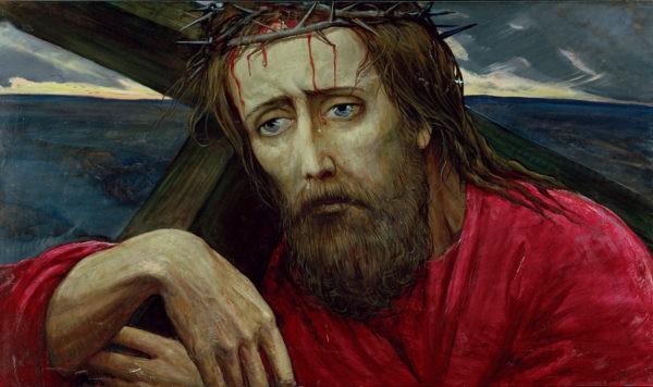 Христос Ильи Глазунова (10 картин)