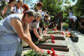 В украинской Горловке увековечили память погибших в боевых действиях мирных жителей