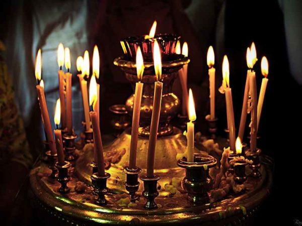 Свеча церковная