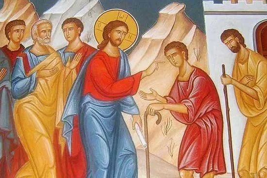 Христос и слепые — чудо из жалости