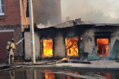 В результате пожара в Ростове-на-Дону есть погибший