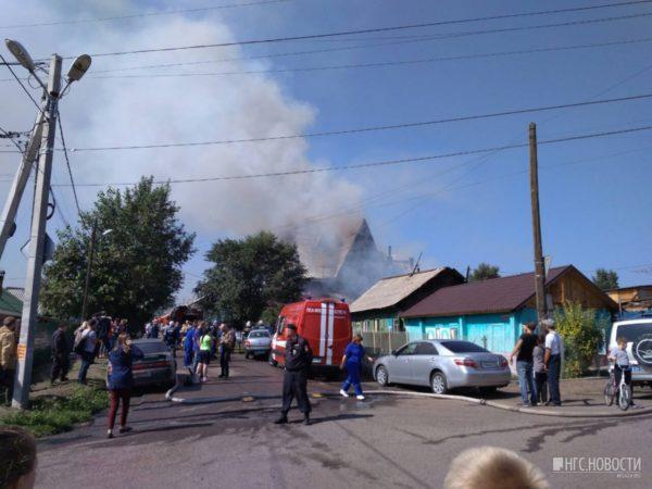 Пожар в доме престарелых произошел в Красноярске