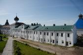 В 1971 году митрополит Никодим и будущий Патриарх приехали на Соловки…