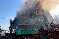 Задержана владелица сгоревшего в Красноярске дома престарелых
