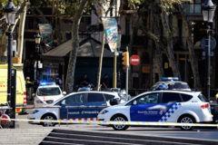 После теракта таксисты в Барселоне возят людей бесплатно