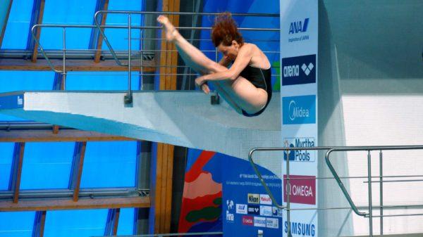 Директор фонда «Созидание» Елена Смирнова стала чемпионкой мира по прыжкам в воду