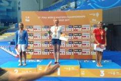 Елена Смирнова завоевала вторую золотую медаль на Чемпионате мира по водным видам спорта