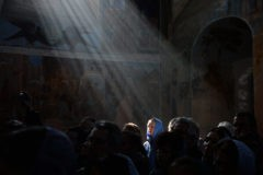 Толпа туристов Господу не помешает