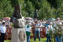 Патриарх Кирилл освятил памятник отцу «Русской Палестины»