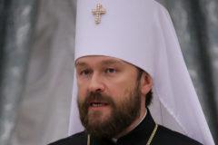 Митрополит Иларион: авторитет Русской православной церкви в стране и мире очень высок