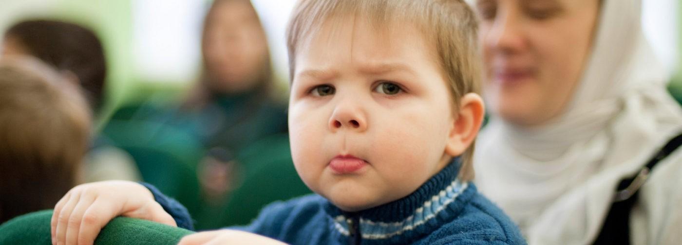 Как в пост не раздражать детей