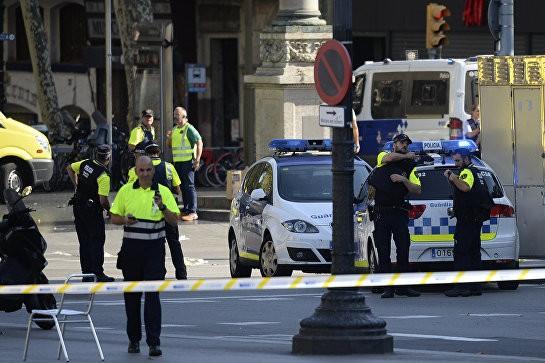 В двух испанских городах произошли теракты, пострадали более 100 человек