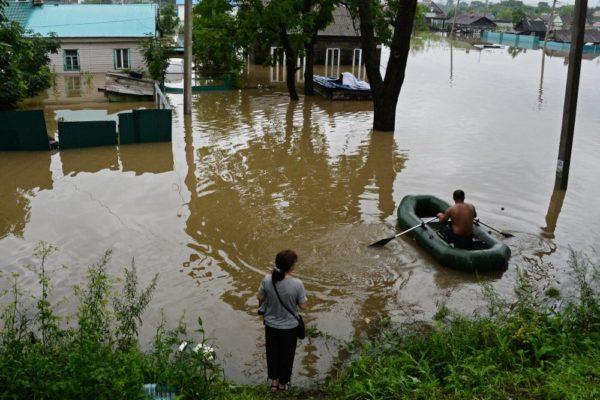 В Приморье восстановлен проезд ко всем селам, пострадавшим от паводка