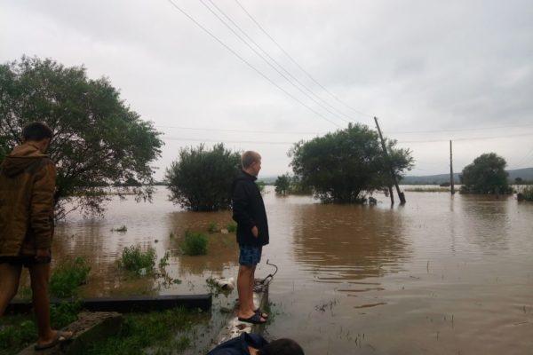 В Приморье из-за ливней затоплен Уссурийск и семь сел