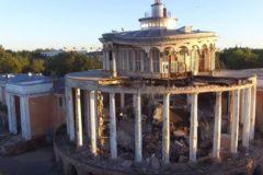 В Твери обрушился речной вокзал, возведенный на месте монастырских построек (+видео)