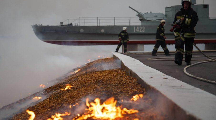 Волгоградская область: вроде потушили, но загорелось вновь (фото, видео)