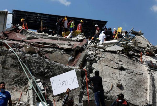 Более 200 человек погибли при землетрясении в Мексике