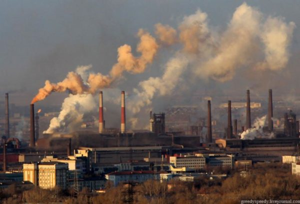Названы российские города с самым загрязненным воздухом