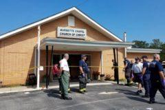 Церковный помощник остановил нападение на прихожан церкви в США