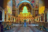 Церковь празднует обновление храма Воскресения Христова в Иерусалиме