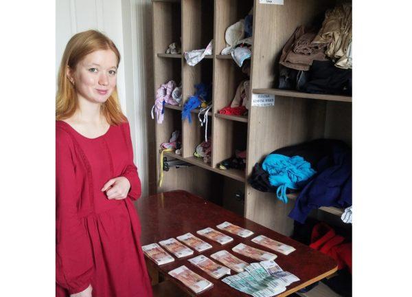 Благотворительный фонд в Иркутске получил сумку с миллионом рублей