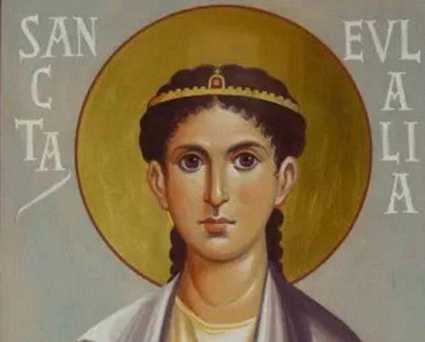 Церковь чтит память мученицы Евлалии