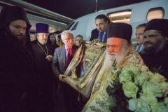 Икона Божией Матери «Панагия Сумела» доставлена в Петербург
