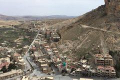 Разграбленные боевиками храмы восстанавливают в сирийском городе Маалюла