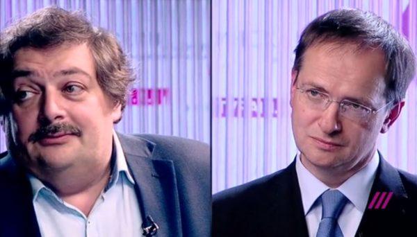 Дебаты на Дожде: Владимир Мединский vs Дмитрий Быков