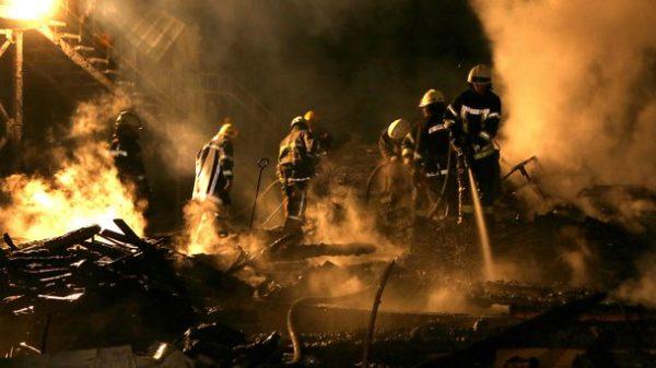 В Одессе трое детей погибли при пожаре в оздоровительном лагере