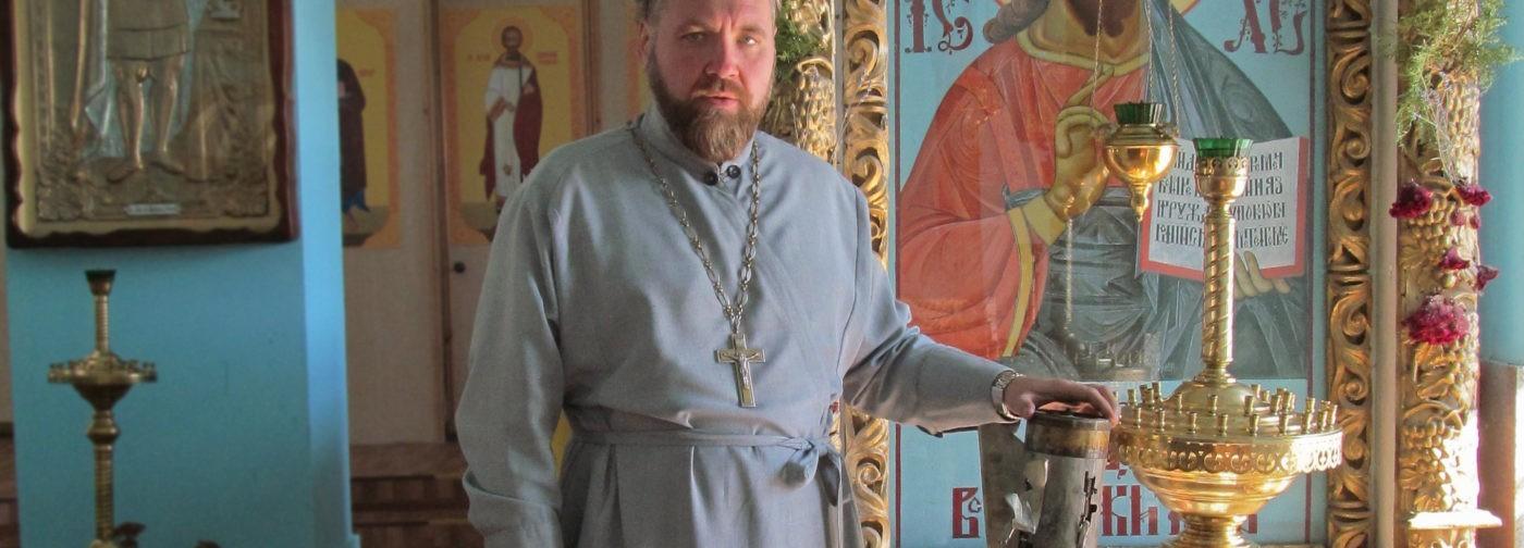 Священник из Донбасса: Я помню, как сидел в блиндаже и все вокруг рушилось