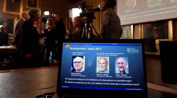 Нобелевская премия по физике присуждена за обнаружение гравитационных волн