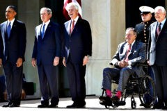 Пять экс-президентов США соберутся на благотворительный концерт в помощь пострадавшим от ураганов