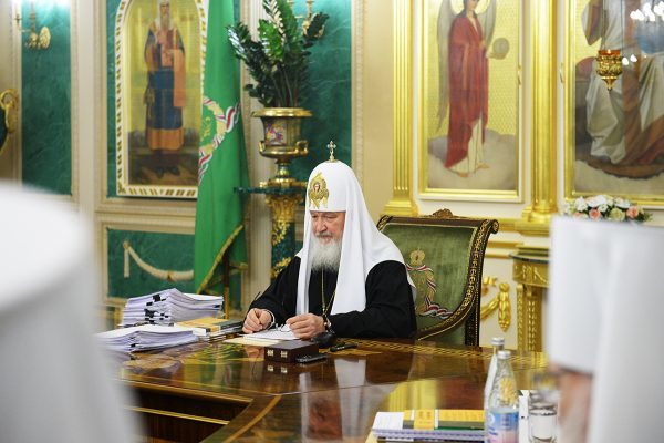 Заседание Священного Синода проходит в Даниловском монастыре