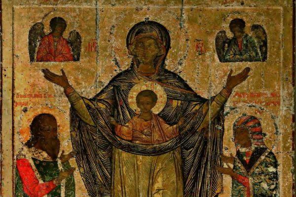 Церковь чтит Мирожскую икону Божьей матери