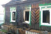 В Свердловской области полицейский вынес из горящего дома четырех детей