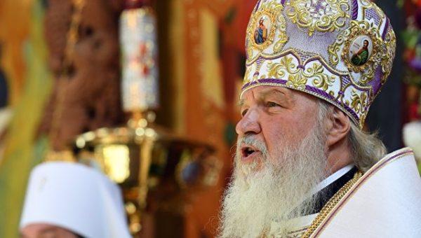 Патриарх Кирилл освятил «спорный» храм наХодынке