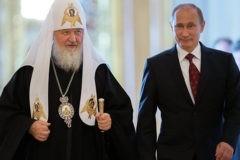 Патриарх Кирилл поздравил Владимира Путинас 65-летием