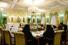 Синод отметил вклад Владимира Путина в защиту нравственных ценностей