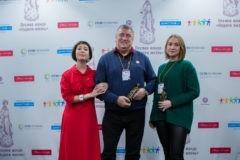 Чулпан Хаматова вручила премии благотворительного фонда «Подари жизнь» (+фото)