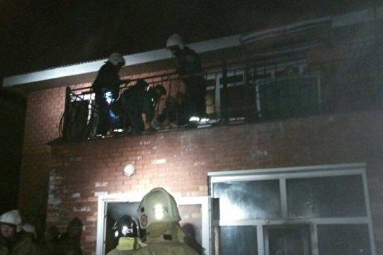 В доме для инвалидов в Иркутске произошел пожар, пострадали 13 человек